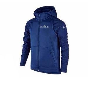 Boys youth sz M Nike Lebron sweatshirt Jacket